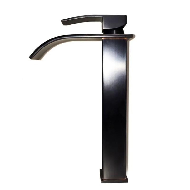 Grifería de lujo para baño cascada negra VISION VS modelo ...